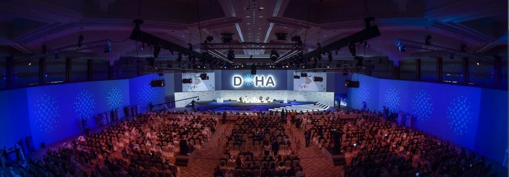 Spotlight Conversation with H.E. Al-Attiyah at Doha Forum